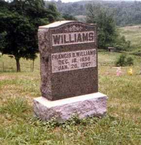 WILLIAMS, FRANCIS - Athens County, Ohio | FRANCIS WILLIAMS - Ohio Gravestone Photos
