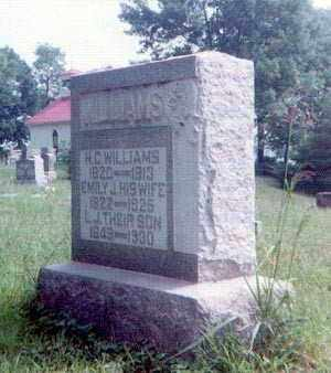 WILLIAMS, EMILY - Athens County, Ohio | EMILY WILLIAMS - Ohio Gravestone Photos
