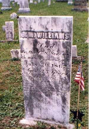 WILLIAMS, JEREMIAH - Athens County, Ohio | JEREMIAH WILLIAMS - Ohio Gravestone Photos