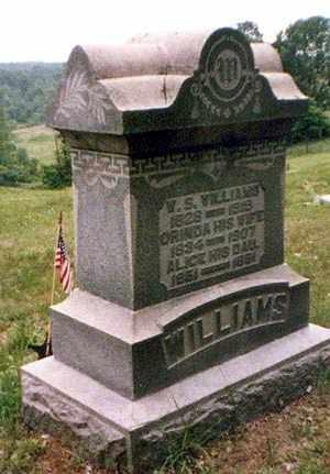 WILLIAMS, WALDRON - Athens County, Ohio   WALDRON WILLIAMS - Ohio Gravestone Photos