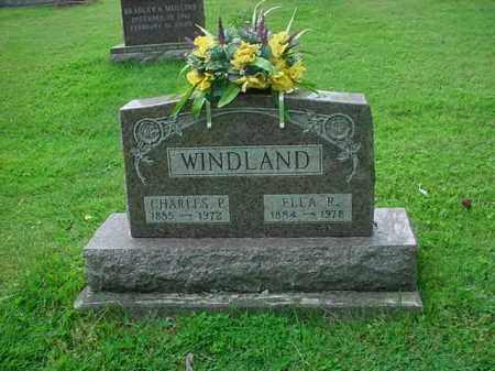 WINDLAND, CHARLES P. - Athens County, Ohio | CHARLES P. WINDLAND - Ohio Gravestone Photos