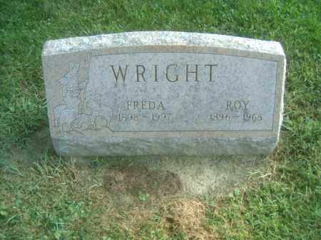 WRIGHT, FREDA - Athens County, Ohio | FREDA WRIGHT - Ohio Gravestone Photos