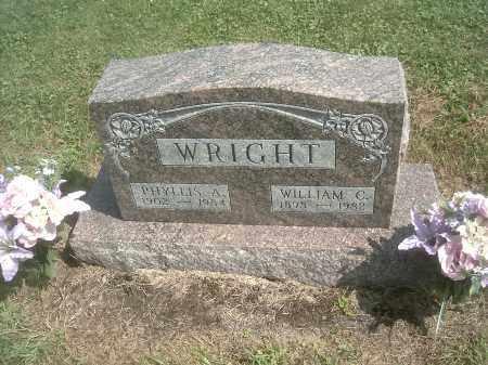 WRIGHT, WILLIAM C. - Athens County, Ohio | WILLIAM C. WRIGHT - Ohio Gravestone Photos