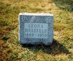 BIELEFELD, LEONA - Auglaize County, Ohio   LEONA BIELEFELD - Ohio Gravestone Photos