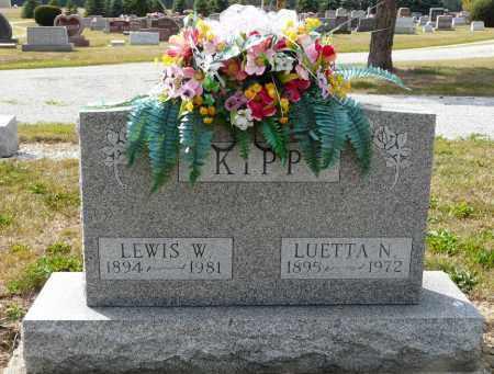 KIPP, LEWIS W - Auglaize County, Ohio   LEWIS W KIPP - Ohio Gravestone Photos