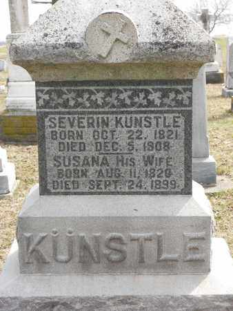 KUNSTLE, SEVERIN - Auglaize County, Ohio | SEVERIN KUNSTLE - Ohio Gravestone Photos