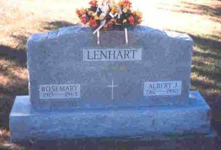 BROWN LENHART, ROSEMARY - Auglaize County, Ohio | ROSEMARY BROWN LENHART - Ohio Gravestone Photos