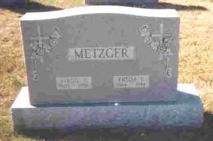METZGER, FREDA E. - Auglaize County, Ohio | FREDA E. METZGER - Ohio Gravestone Photos