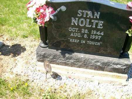 NOLTE, STAN - Auglaize County, Ohio | STAN NOLTE - Ohio Gravestone Photos