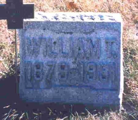 SCHAFFER, WILLIAM TECUMPSEY - Auglaize County, Ohio | WILLIAM TECUMPSEY SCHAFFER - Ohio Gravestone Photos