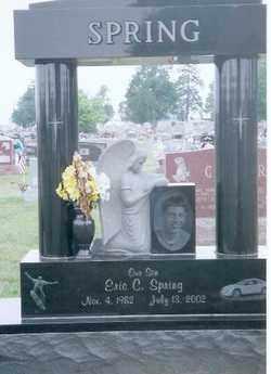 SPRING, ERIC C - Auglaize County, Ohio | ERIC C SPRING - Ohio Gravestone Photos