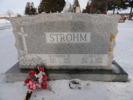 STROHM, BERNARD W. - Auglaize County, Ohio   BERNARD W. STROHM - Ohio Gravestone Photos