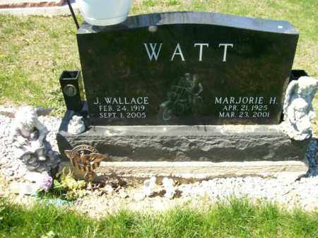 WATT, J. WALLACE - Auglaize County, Ohio | J. WALLACE WATT - Ohio Gravestone Photos