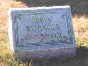 WEHINGER, APPOLONIA-ABIGAIL - Auglaize County, Ohio   APPOLONIA-ABIGAIL WEHINGER - Ohio Gravestone Photos