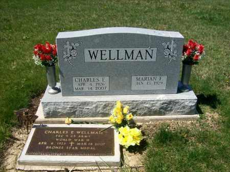 WELLMAN, CHARLES E. - Auglaize County, Ohio | CHARLES E. WELLMAN - Ohio Gravestone Photos