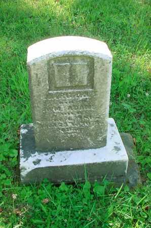 ADAMS, UNKNOWN - Belmont County, Ohio | UNKNOWN ADAMS - Ohio Gravestone Photos