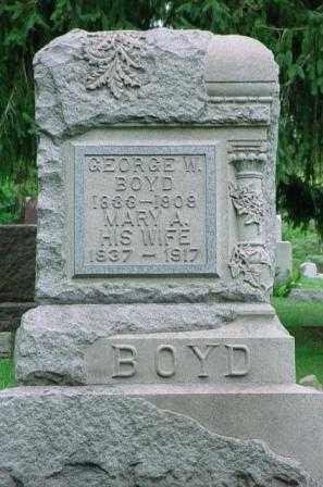 BOYD, MARY A. - Belmont County, Ohio   MARY A. BOYD - Ohio Gravestone Photos