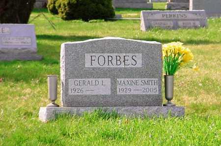 SMITH FORBES, MAXINE - Belmont County, Ohio   MAXINE SMITH FORBES - Ohio Gravestone Photos