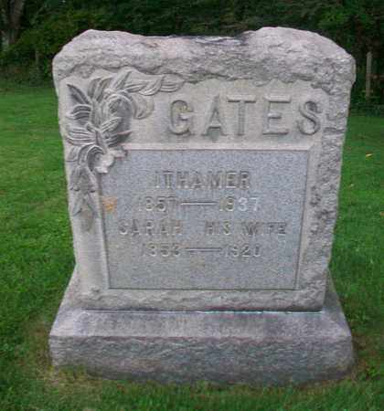 GATES, SARAH - Belmont County, Ohio | SARAH GATES - Ohio Gravestone Photos