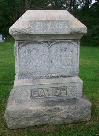 GATES, JANE - Belmont County, Ohio | JANE GATES - Ohio Gravestone Photos