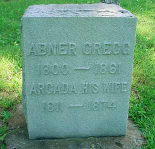 GREGG, ABNER - Belmont County, Ohio | ABNER GREGG - Ohio Gravestone Photos
