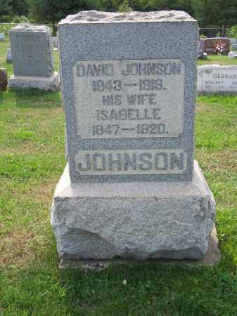 JOHNSON, DAVID - Belmont County, Ohio | DAVID JOHNSON - Ohio Gravestone Photos