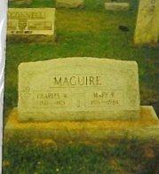 MAGUIRE, CHARLES WILLIAM - Belmont County, Ohio | CHARLES WILLIAM MAGUIRE - Ohio Gravestone Photos