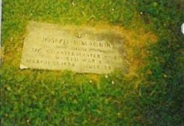 MAGUIRE, JOSEPH EUGENE - Belmont County, Ohio | JOSEPH EUGENE MAGUIRE - Ohio Gravestone Photos