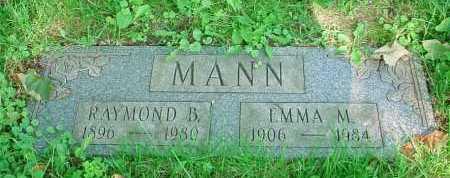 MANN, RAYMOND B. - Belmont County, Ohio | RAYMOND B. MANN - Ohio Gravestone Photos