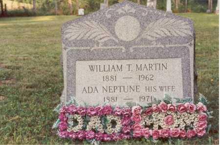 MARTIN, WILLIAM T. - Belmont County, Ohio | WILLIAM T. MARTIN - Ohio Gravestone Photos