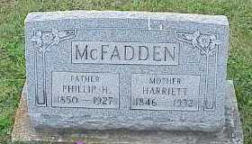 MCFADDEN, PHILLIP H - Belmont County, Ohio | PHILLIP H MCFADDEN - Ohio Gravestone Photos