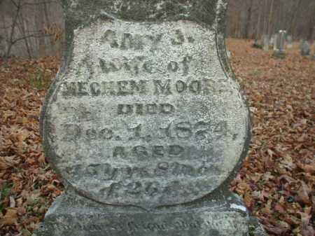 MOORE, AMY J - Belmont County, Ohio   AMY J MOORE - Ohio Gravestone Photos