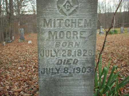 MOORE, MITCHEM - Belmont County, Ohio   MITCHEM MOORE - Ohio Gravestone Photos