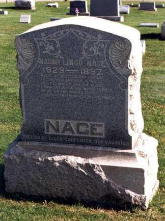 BOLON NACE, NAOMI LINGO - Belmont County, Ohio   NAOMI LINGO BOLON NACE - Ohio Gravestone Photos