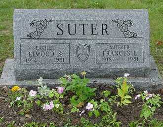 SUTER, FRANCES E. - Belmont County, Ohio | FRANCES E. SUTER - Ohio Gravestone Photos