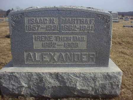 ALEXANDER, ISAAC  N - Brown County, Ohio | ISAAC  N ALEXANDER - Ohio Gravestone Photos