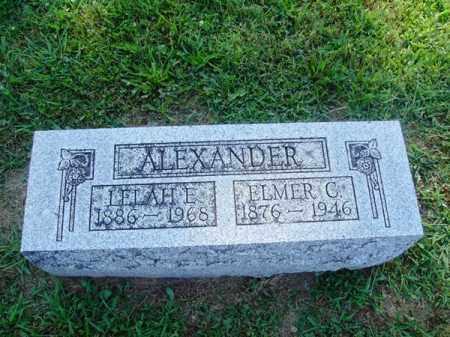 H ALEXANDER, LELAH - Brown County, Ohio | LELAH H ALEXANDER - Ohio Gravestone Photos