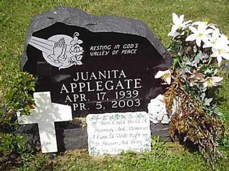 APPLEGATE, JUANITA - Brown County, Ohio | JUANITA APPLEGATE - Ohio Gravestone Photos