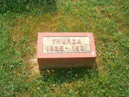BRADY, THURZA - Brown County, Ohio   THURZA BRADY - Ohio Gravestone Photos