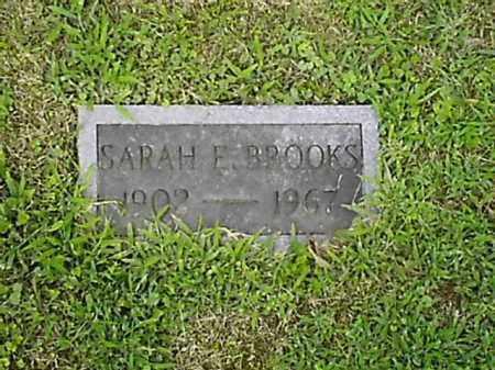 BROOKS, SARAH  E - Brown County, Ohio | SARAH  E BROOKS - Ohio Gravestone Photos
