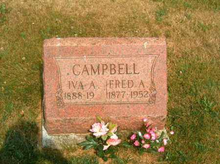 CAMPBELL, FRED  A - Brown County, Ohio   FRED  A CAMPBELL - Ohio Gravestone Photos