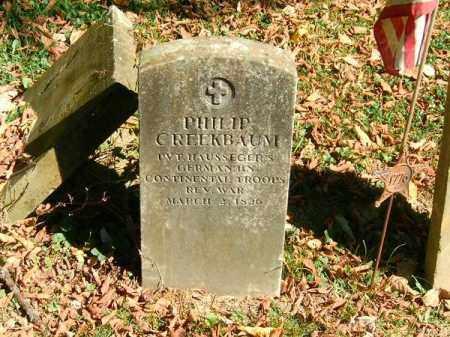 CREEKBAUM, PHILLIP - Brown County, Ohio   PHILLIP CREEKBAUM - Ohio Gravestone Photos