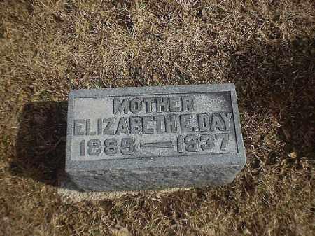 DAY, ELIZABETH - Brown County, Ohio | ELIZABETH DAY - Ohio Gravestone Photos