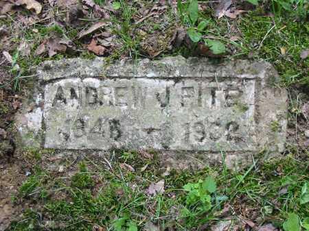 FITE, ANDREW J - Brown County, Ohio   ANDREW J FITE - Ohio Gravestone Photos