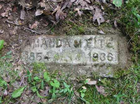 FITE, AMANDA M - Brown County, Ohio   AMANDA M FITE - Ohio Gravestone Photos