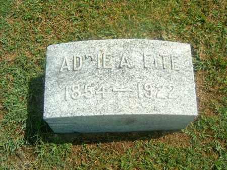 FITE, ADDIE  A - Brown County, Ohio   ADDIE  A FITE - Ohio Gravestone Photos