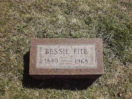 FITE, BESSIE - Brown County, Ohio | BESSIE FITE - Ohio Gravestone Photos