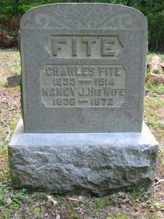 FITE, CHARLES - Brown County, Ohio | CHARLES FITE - Ohio Gravestone Photos