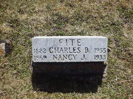 FITE, NANCY  J - Brown County, Ohio | NANCY  J FITE - Ohio Gravestone Photos