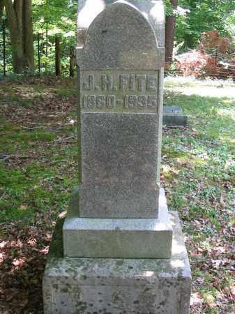 FITE, JACOB H - Brown County, Ohio   JACOB H FITE - Ohio Gravestone Photos